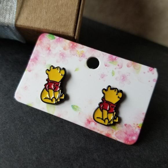 5bba88a39 Jewelry   New Winnie The Pooh The Bear Stud Earrings   Poshmark